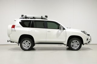 2012 Toyota Landcruiser Prado KDJ150R 11 Upgrade VX (4x4) White 5 Speed Sequential Auto Wagon