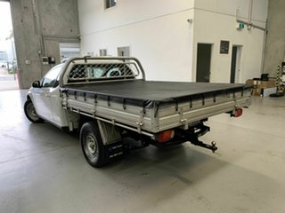 2010 Ford Falcon FG Super Cab White 4 Speed Sports Automatic Cab Chassis