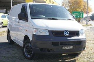 2007 Volkswagen Transporter T5 MY07 Citivan Low Roof White 5 Speed Manual Van.