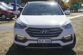 2016 Hyundai Santa Fe DM3 MY16 Highlander White 6 Speed Sports Automatic Wagon.