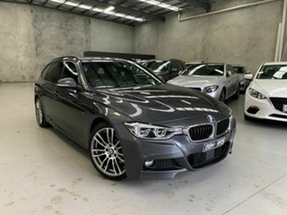 2016 BMW 3 Series F31 LCI 330i Touring M Sport Grey 8 Speed Sports Automatic Wagon.