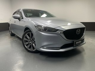 2018 Mazda 6 GL1032 GT SKYACTIV-Drive Silver 6 Speed Sports Automatic Sedan
