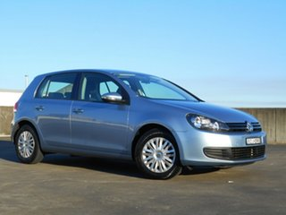 2011 Volkswagen Golf VI MY11 77TSI DSG Blue 7 Speed Sports Automatic Dual Clutch Hatchback.