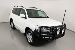 2018 Toyota Landcruiser VDJ200R LC200 GXL (4x4) Pearl White 6 Speed Automatic Wagon