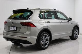 2019 Volkswagen Tiguan 5N MY19.5 132TSI DSG 4MOTION R-Line Edition Silver 7 Speed