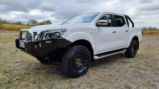 2019 Nissan Navara D23 S3 ST White 7 Speed Sports Automatic Utility