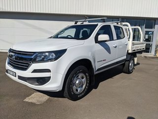 2018 Holden Colorado RG MY19 LS Pickup Crew Cab White 6 Speed Sports Automatic Utility.