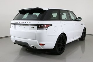2015 Land Rover Range Rover LW MY15.5 Sport 3.0 SDV6 HSE Fuji White 8 Speed Automatic Wagon