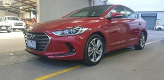 2017 Hyundai Elantra AD MY18 Elite Fiery Red 6 Speed Sports Automatic Sedan
