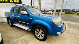 2009 Ford Ranger PK Wildtrak Crew Cab Blue 5 Speed Automatic Utility.
