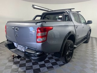 2017 Mitsubishi Triton MQ MY17 GLS Double Cab Sports Edition Titanium Grey 5 Speed Sports Automatic
