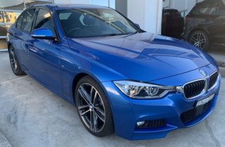 2017 BMW 3 Series F30 LCI 330i M Sport Estoril Blue 8 Speed Sports Automatic Sedan