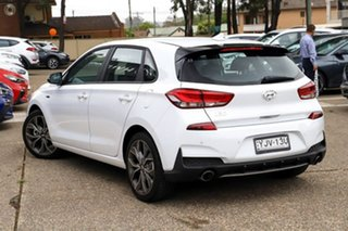 2021 Hyundai i30 PD.V4 MY21 N Line D-CT Polar White 7 Speed Sports Automatic Dual Clutch Hatchback