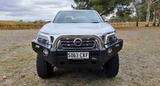 2019 Nissan Navara D23 S3 ST White 7 Speed Sports Automatic Utility.