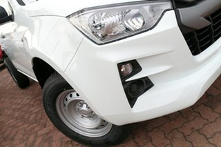 2021 Isuzu D-MAX RG MY21 SX White 6 Speed Sports Automatic Cab Chassis.