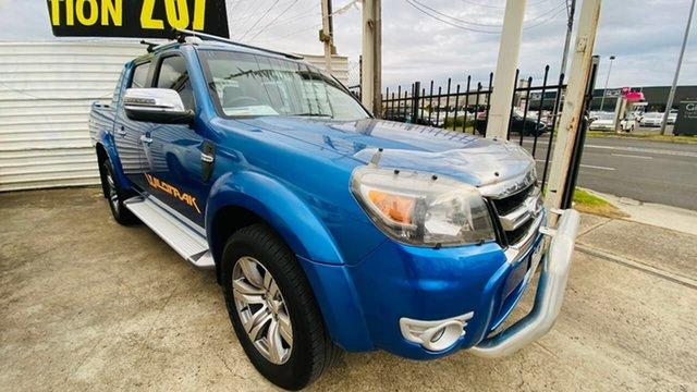 Used Ford Ranger PK Wildtrak Crew Cab Maidstone, 2009 Ford Ranger PK Wildtrak Crew Cab Blue 5 Speed Automatic Utility