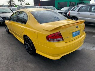 2005 Ford Falcon BF XR6T Yellow 6 Speed Manual Sedan