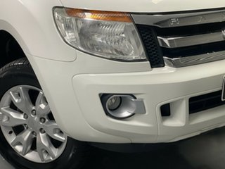 2015 Ford Ranger PX XLT Super Cab 4x2 Hi-Rider White 6 Speed Sports Automatic Utility.