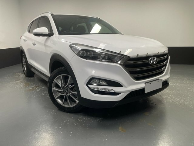 Used Hyundai Tucson TL2 MY18 Elite 2WD Rutherford, 2017 Hyundai Tucson TL2 MY18 Elite 2WD Pure White 6 Speed Sports Automatic Wagon