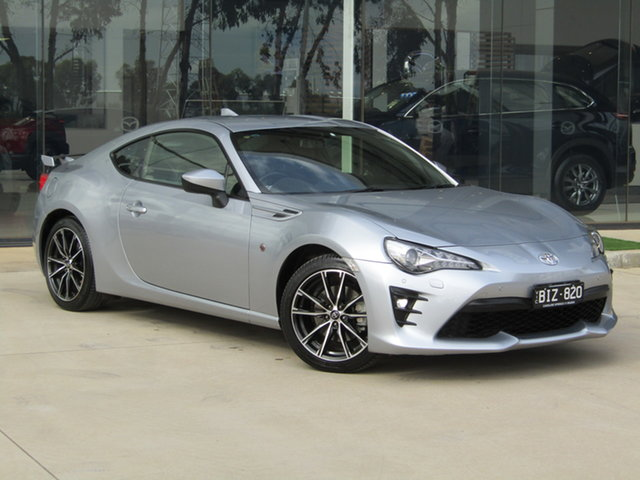 Used Toyota 86 ZN6 GTS Ravenhall, 2017 Toyota 86 ZN6 GTS Silver 6 Speed Sports Automatic Coupe