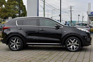 2016 Kia Sportage QL MY16 Platinum AWD Black 6 Speed Sports Automatic Wagon.