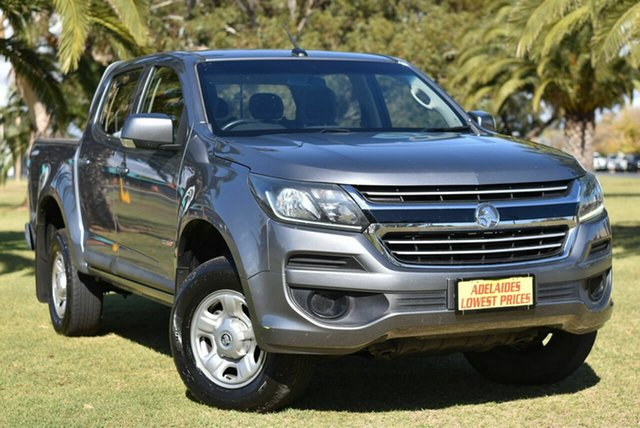 Used Holden Colorado RG MY17 LS Pickup Crew Cab 4x2 Cheltenham, 2017 Holden Colorado RG MY17 LS Pickup Crew Cab 4x2 Grey 6 Speed Sports Automatic Utility