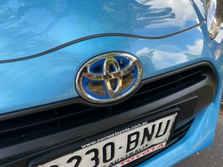 2015 Toyota Prius c NHP10R E-CVT Blue 1 Speed Constant Variable Hatchback Hybrid
