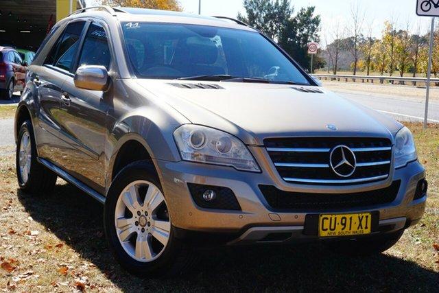 Used Mercedes-Benz M-Class W164 MY08 ML280 CDI Phillip, 2008 Mercedes-Benz M-Class W164 MY08 ML280 CDI Gold 7 Speed Sports Automatic Wagon