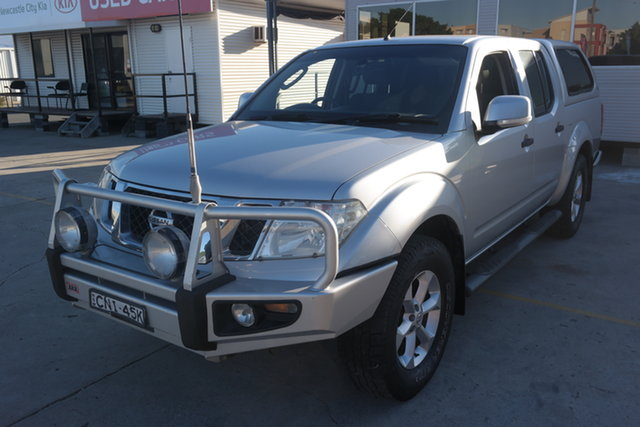 Used Nissan Navara D40 S6 MY12 ST Maryville, 2012 Nissan Navara D40 S6 MY12 ST Silver 6 Speed Manual Utility