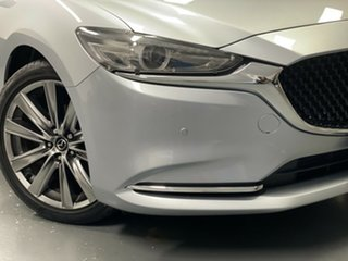 2018 Mazda 6 GL1032 GT SKYACTIV-Drive Silver 6 Speed Sports Automatic Sedan.