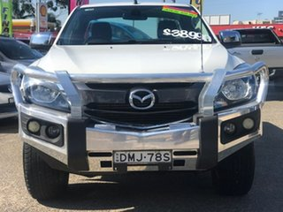 2017 Mazda BT-50 UR0YG1 XTR Freestyle White 6 Speed Sports Automatic Utility