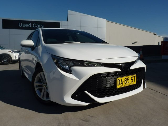 Pre-Owned Toyota Corolla Mzea12R Ascent Sport Blacktown, 2020 Toyota Corolla Mzea12R Ascent Sport White 10 Speed Constant Variable Hatchback