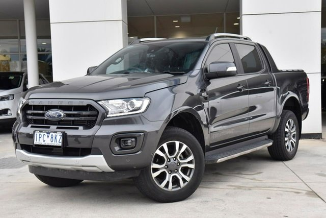 Used Ford Ranger PX MkIII 2019.00MY Wildtrak Oakleigh, 2018 Ford Ranger PX MkIII 2019.00MY Wildtrak Grey 6 Speed Manual Utility
