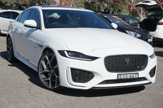 2020 Jaguar XE X760 MY20 R-Dynamic HSE Fuji White 8 Speed Sports Automatic Sedan.