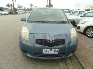 2005 Toyota Yaris NCP90R YR Blue 4 Speed Automatic Hatchback.
