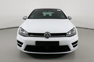 2016 Volkswagen Golf AU MY17 R White 6 Speed Direct Shift Hatchback.