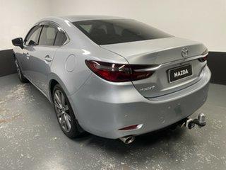 2018 Mazda 6 GL1032 GT SKYACTIV-Drive Silver 6 Speed Sports Automatic Sedan