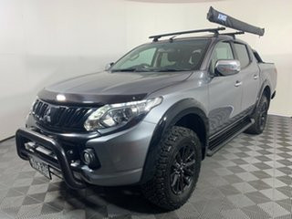 2017 Mitsubishi Triton MQ MY17 GLS Double Cab Sports Edition Titanium Grey 5 Speed Sports Automatic.