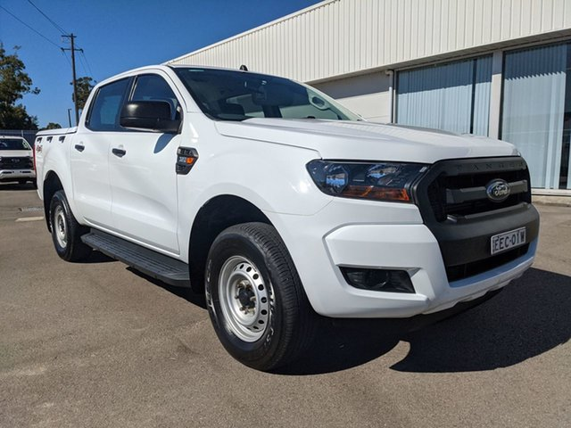 Used Ford Ranger PX MkII XL Cardiff, 2017 Ford Ranger PX MkII XL White 6 Speed Sports Automatic Utility