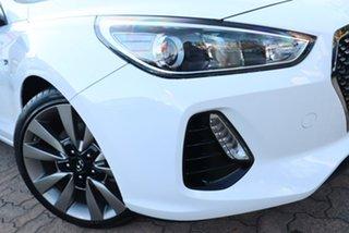 2018 Hyundai i30 PD2 Update SR White 7 Speed Auto Dual Clutch Hatchback.