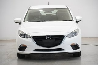 2015 Mazda 3 BM5478 Neo SKYACTIV-Drive Pearl White 6 Speed Sports Automatic Hatchback