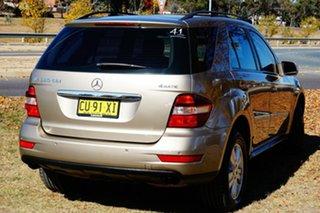 2008 Mercedes-Benz M-Class W164 MY08 ML280 CDI Gold 7 Speed Sports Automatic Wagon