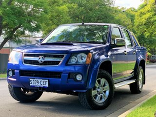 2010 Holden Colorado RC MY10 LT-R Crew Cab Blue 4 Speed Automatic Utility