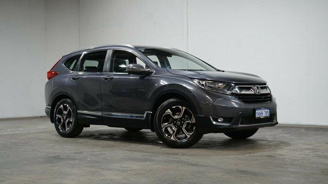 Used Honda CR-V RW MY18 VTi-L FWD Welshpool, 2017 Honda CR-V RW MY18 VTi-L FWD Grey 1 Speed Constant Variable Wagon