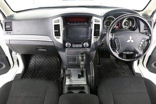2018 Mitsubishi Pajero NX MY18 GLX LWB (4x4) White 5 Speed Auto Sports Mode Wagon