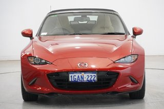 2016 Mazda MX-5 ND GT SKYACTIV-Drive Soul Red 6 Speed Sports Automatic Roadster.