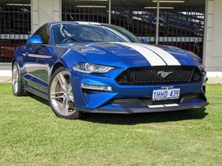 2018 Ford Mustang FN 2019MY GT Blue 10 Speed Sports Automatic Fastback.