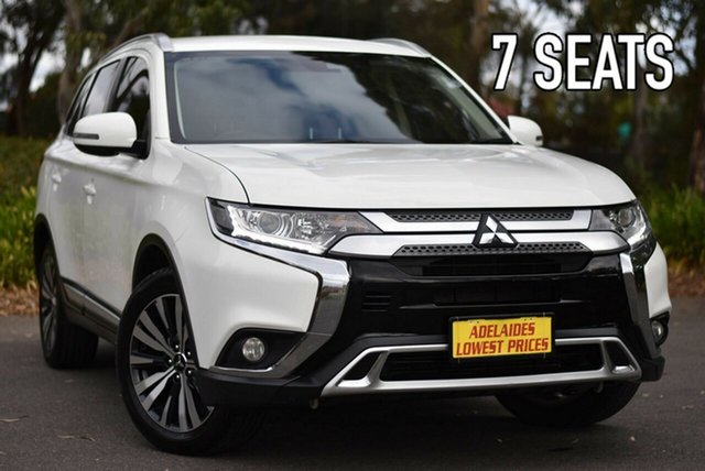 Used Mitsubishi Outlander ZL MY19 LS AWD Melrose Park, 2018 Mitsubishi Outlander ZL MY19 LS AWD White 6 Speed Sports Automatic Wagon