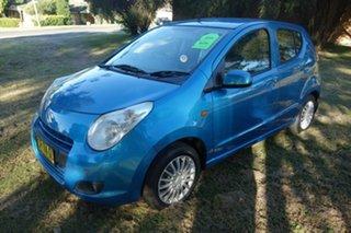 2012 Suzuki Alto GF GL Blue 4 Speed Automatic Hatchback.