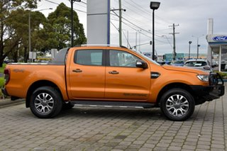 2018 Ford Ranger PX MkII 2018.00MY Wildtrak Double Cab Orange 6 Speed Sports Automatic Utility.